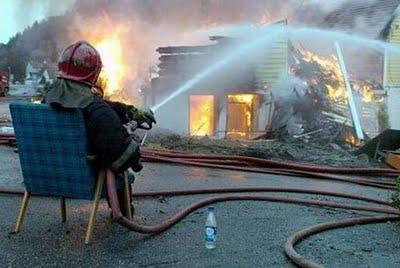 Como apagar incêndios em alto estilo